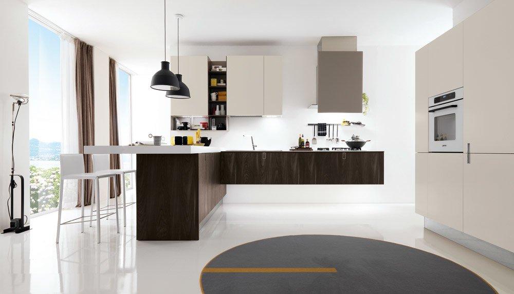 Mobili per cucina cucina laclip a da euromobil cucine for Euro arredamenti olbia