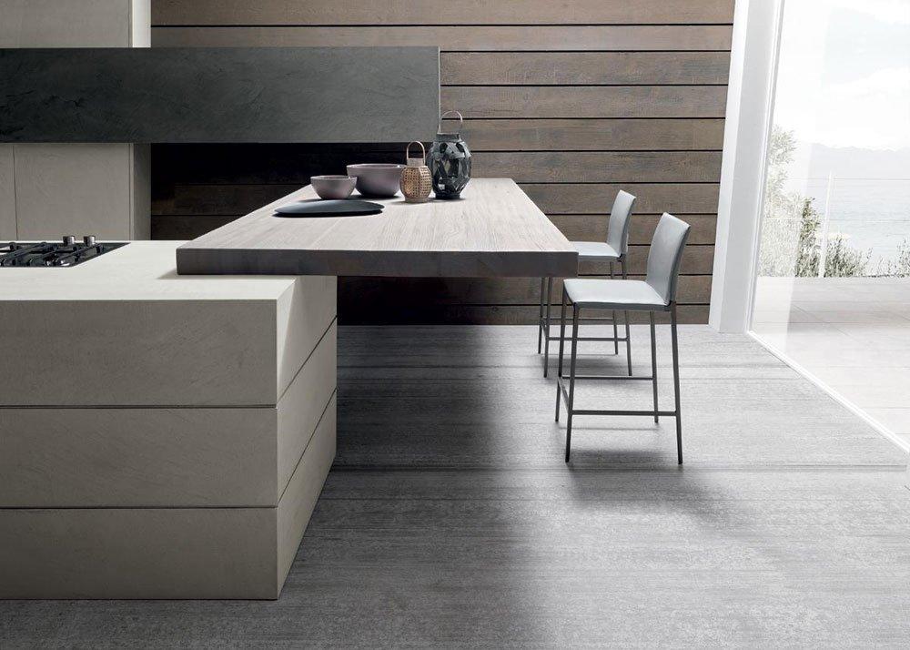Mobili per cucina cucina twenty cemento da modulnova - Mobili per cucina ...