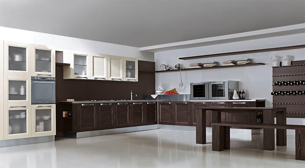 Mobili per cucina cucina aqua b da aran cucine for Arredamenti semeraro