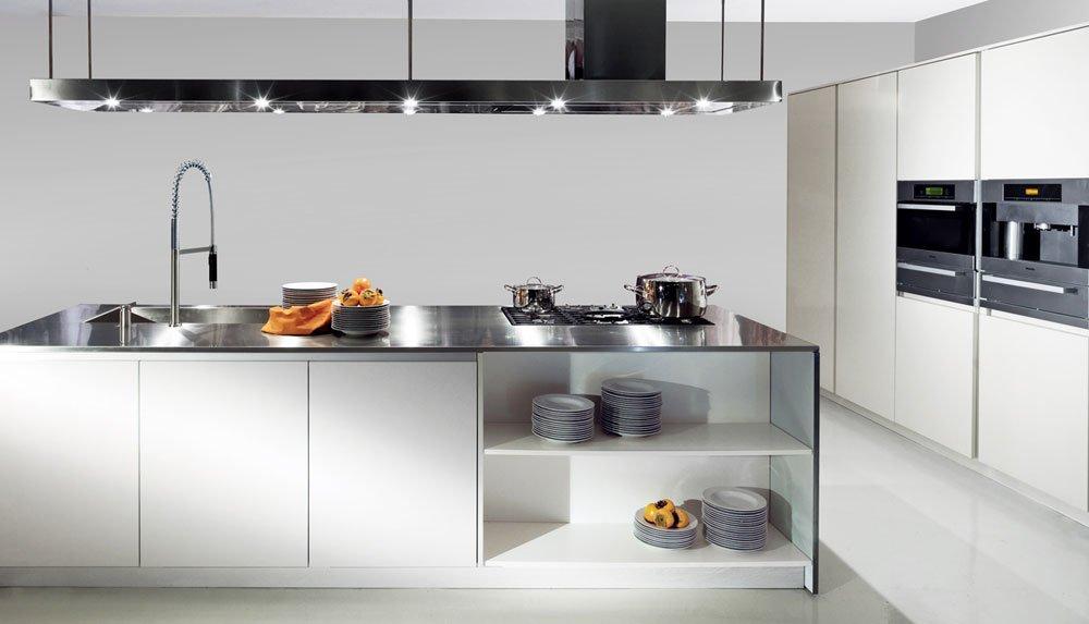 Modular kitchens kitchen one b by schiffini - Cucine fascia alta ...