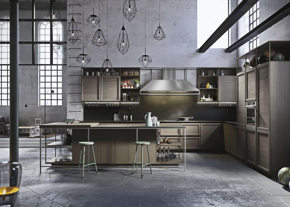 Mobili per cucina cucina frame da snaidero - Mobili per cucinino ...