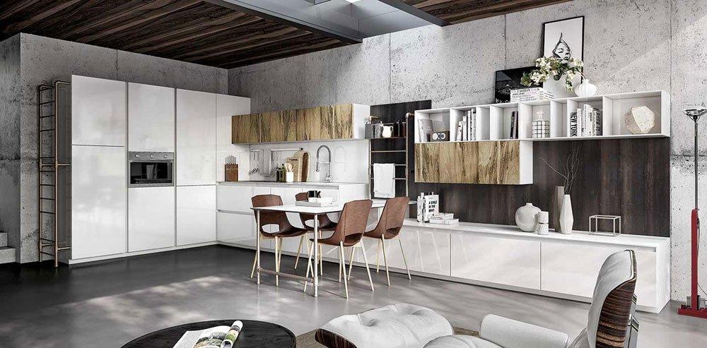 Mobili per cucina cucina vivere italia c da spagnol cucine - Spagnol cucine prezzi ...