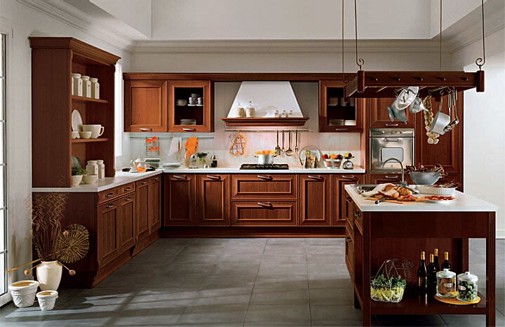 Mobili per cucina cucina louisiana b da spagnol cucine - Cucine usate parma ...