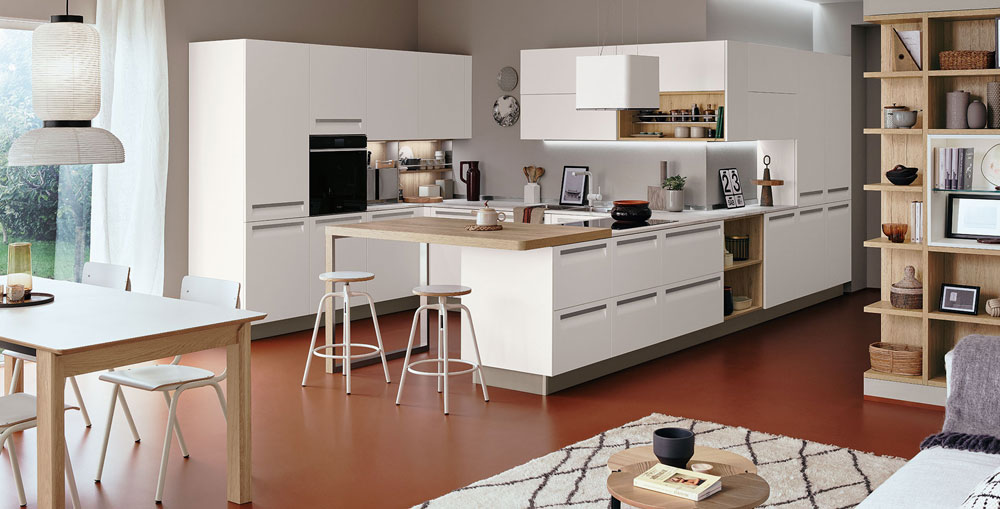 Mobili per cucina cucina carrera da veneta cucine for Veneta cucine bolzano