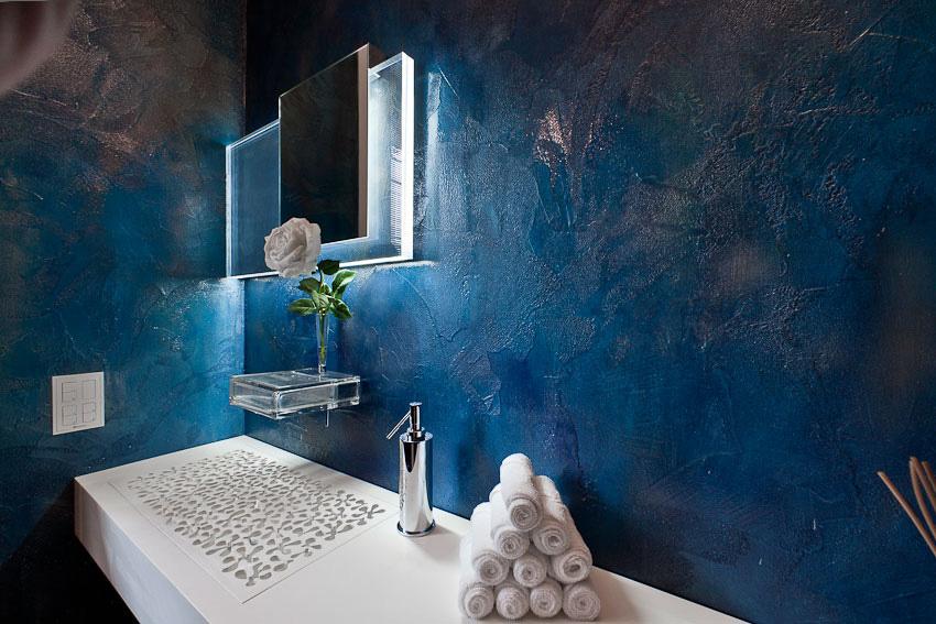 Pavimenti resina resina dega art azzurro da gobbetto for Gobbetto resine