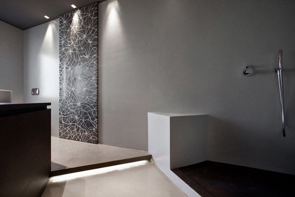 Coprire piastrelle bagno resina design per la casa ditmas