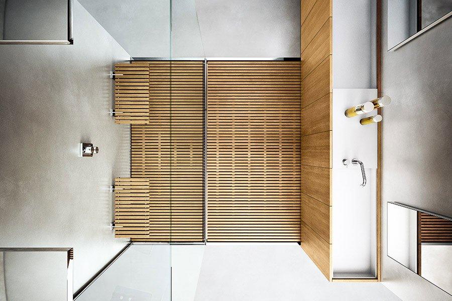 Piatti doccia piatto doccia steel da makro - Rivestire piatto doccia ...