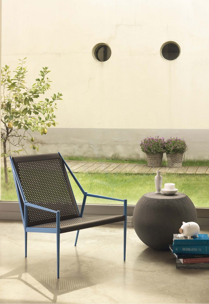 Cappellini kleine sessel kleiner sessel acciaio lounge designbest - Kleine design lounge ...