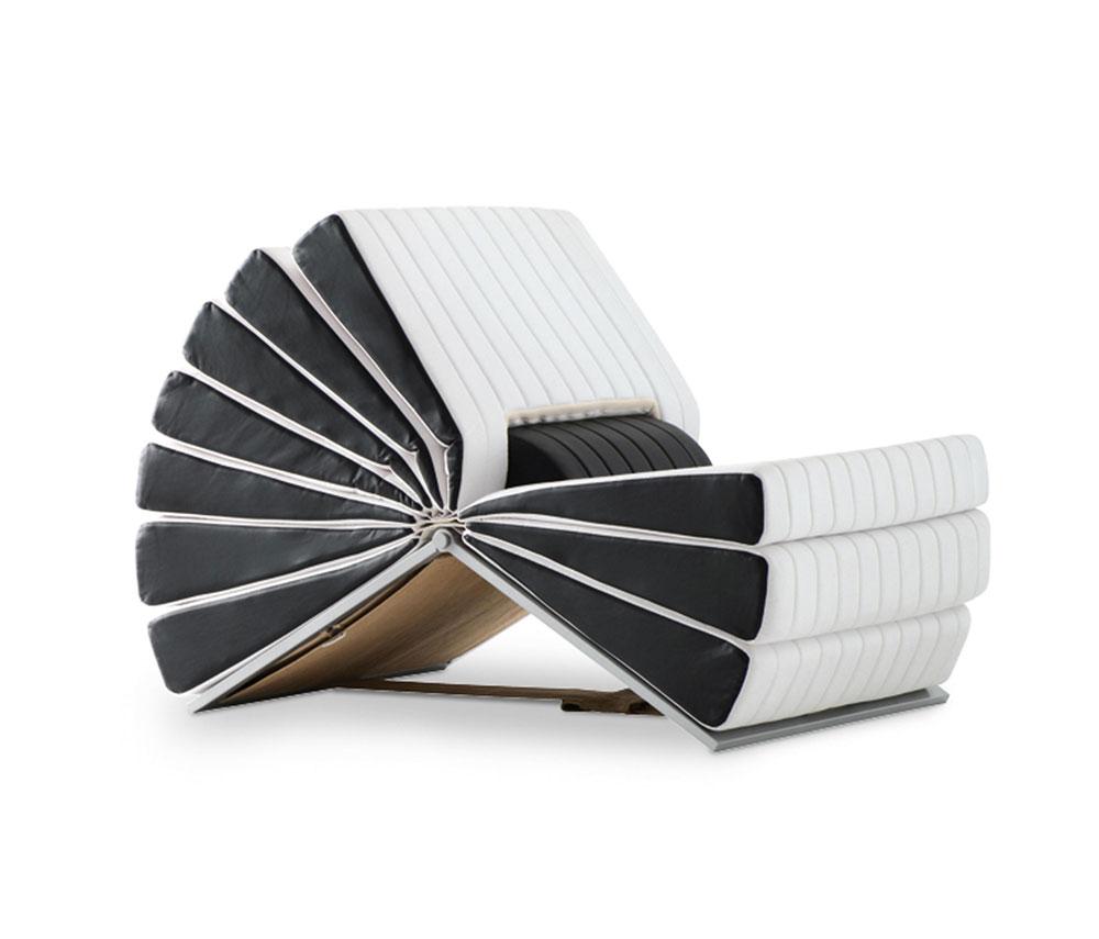 Poltrone poltrona libro da busnelli for Sedute di design