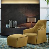 Poltrona Santa Monica Lounge