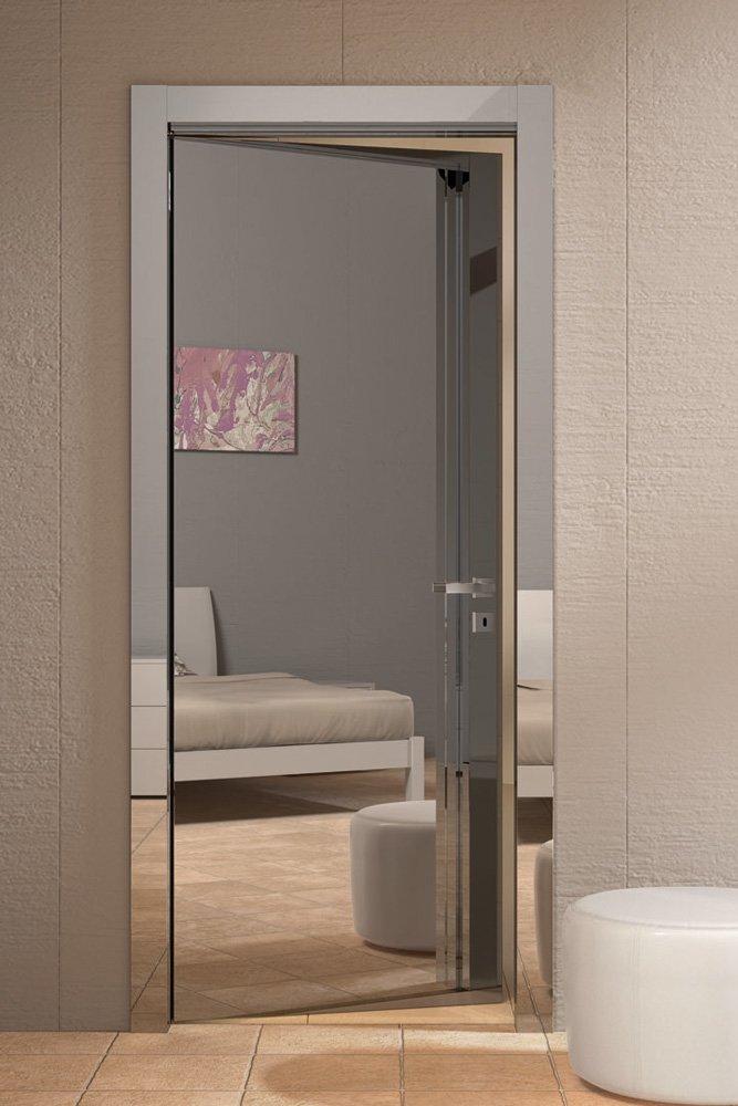 Porte a battente porta smart 1pal b da gidea - Porte con specchio ...