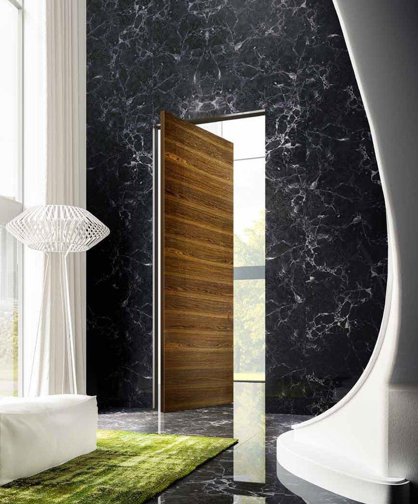 l 39 invisibile portarredo drehpunktt ren und spezialt ren brezza drehfl gelt r c designbest. Black Bedroom Furniture Sets. Home Design Ideas