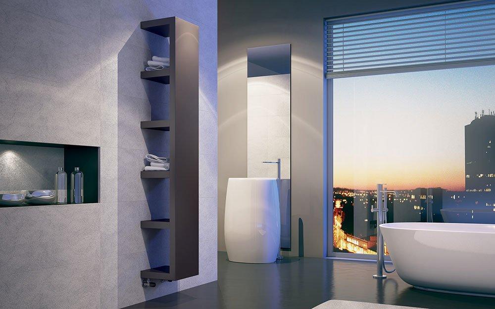 Radiatori di arredo radiatore quadraqua da irsap for Radiatori di arredo