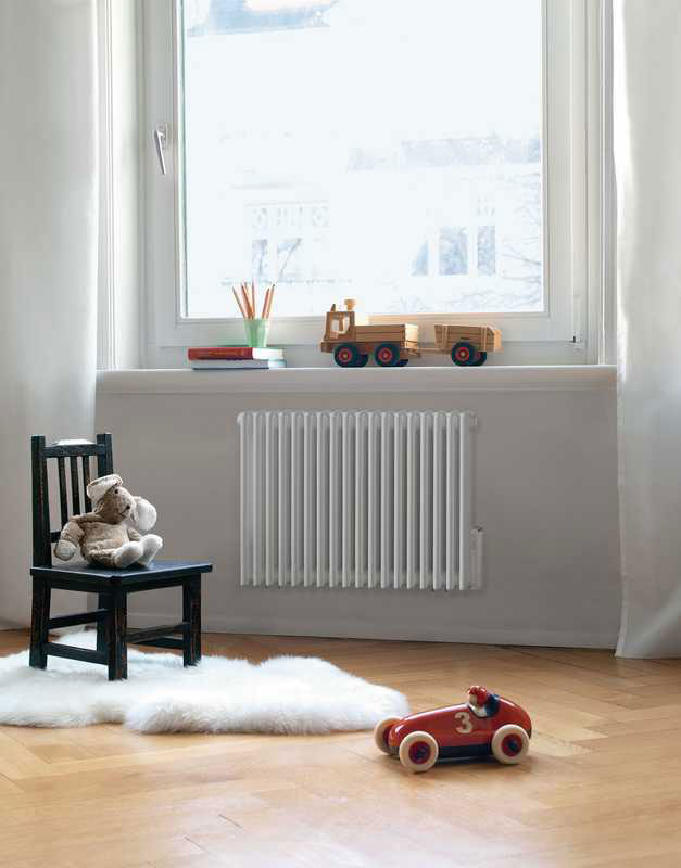 Radiatori di arredo radiatore charleston da zehnder for Radiatori di arredo