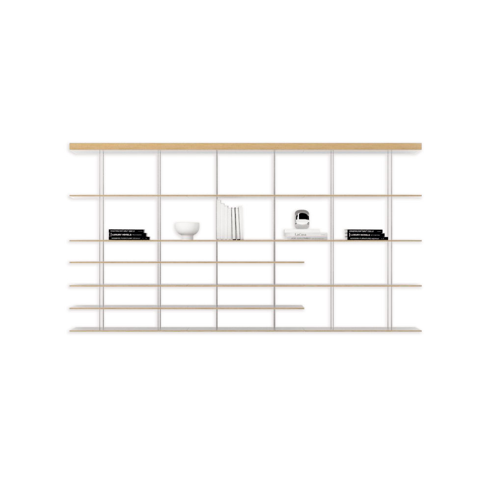 molteni c regale und b cherschr nke regal graduate. Black Bedroom Furniture Sets. Home Design Ideas