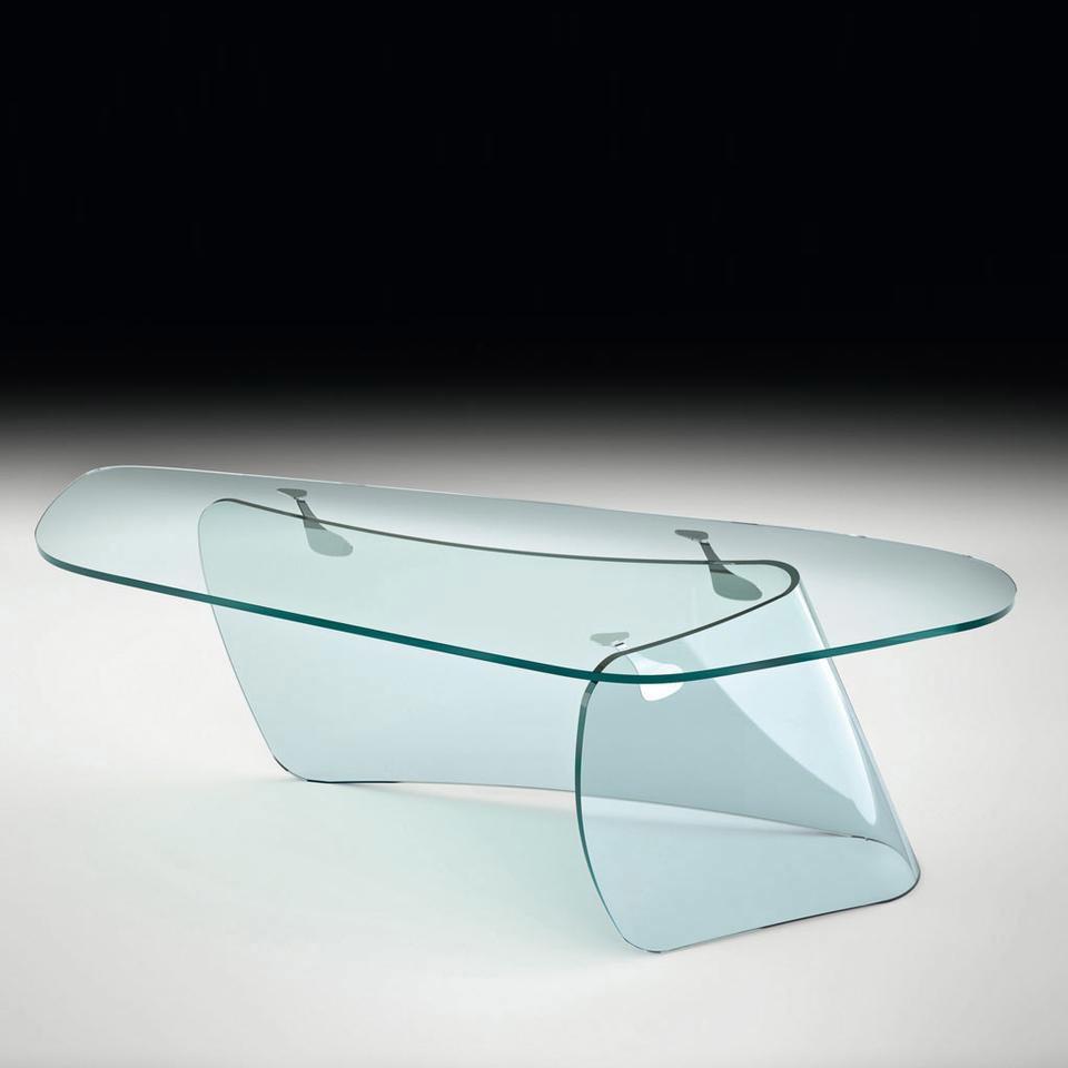 scrivanie e scrittoi scrivania graph da fiam. Black Bedroom Furniture Sets. Home Design Ideas