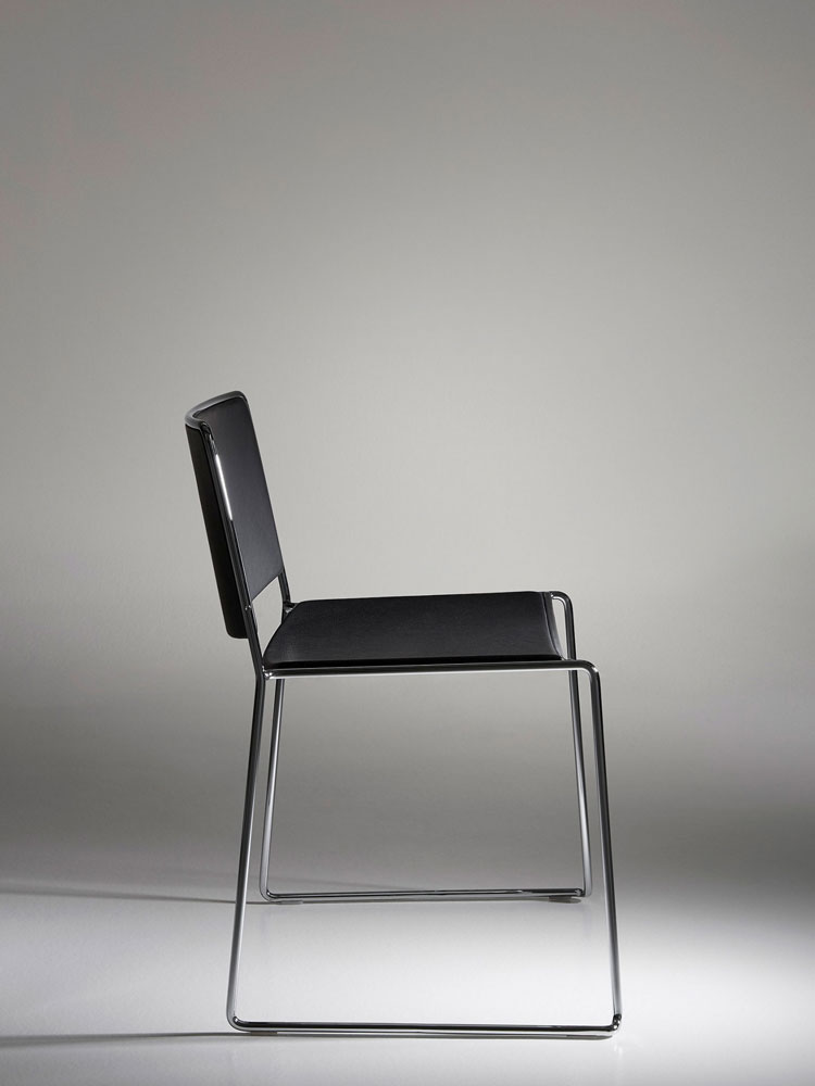 Chairs chair spindle by porro for Sedie design north america