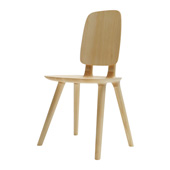 Sedia Tabù Backrest Wood