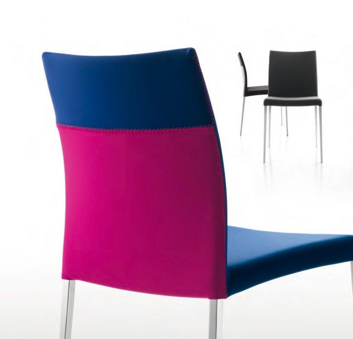 Sedie sedia frida da flai for Sedie design vicenza