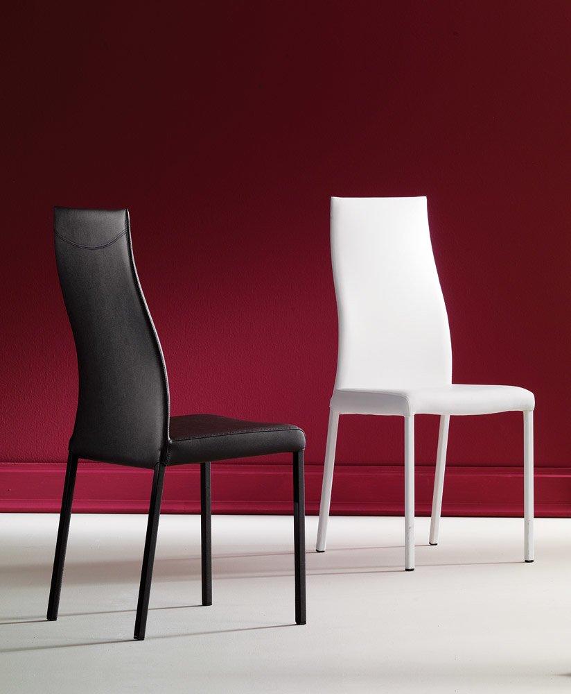 Sedie sedia blitz da ozzio italia for Sedie design treviso