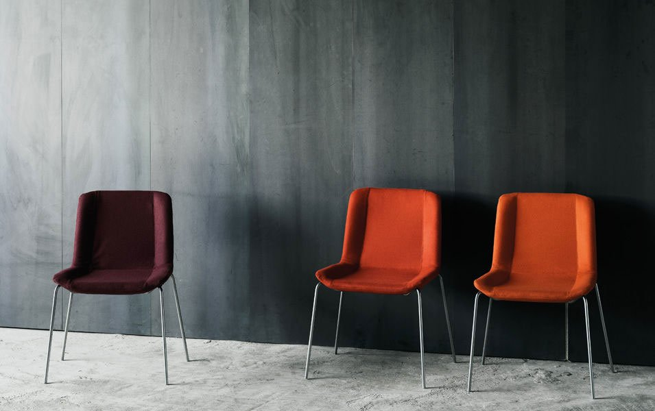 Chairs chair wing by living divani for Sedie design north america