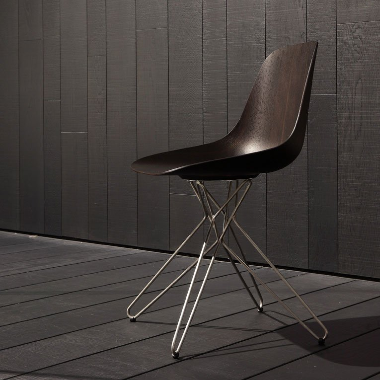 Chairs chair harmony by poliform for Sedie design north america