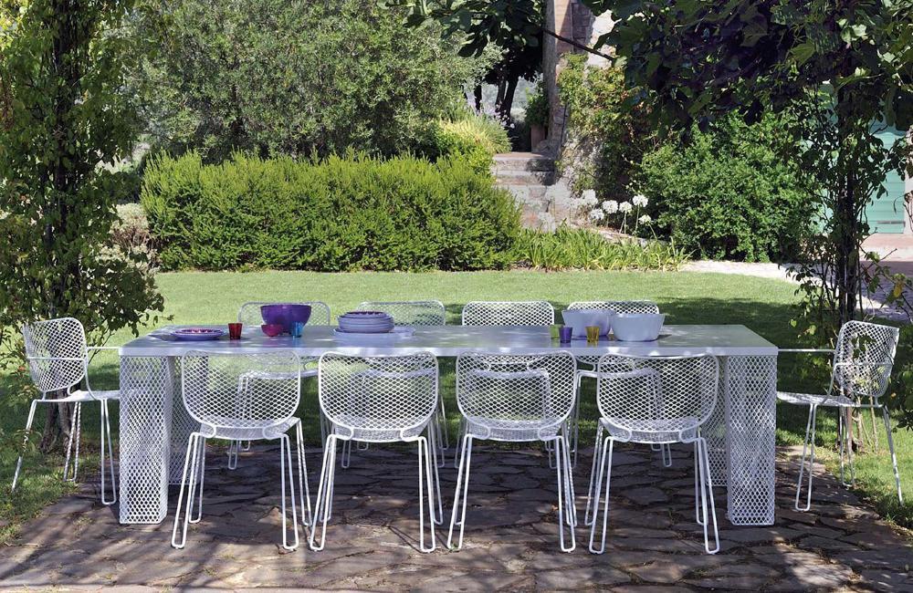 Sedie da giardino sedia ivy da emu - Emu mobili da giardino ...