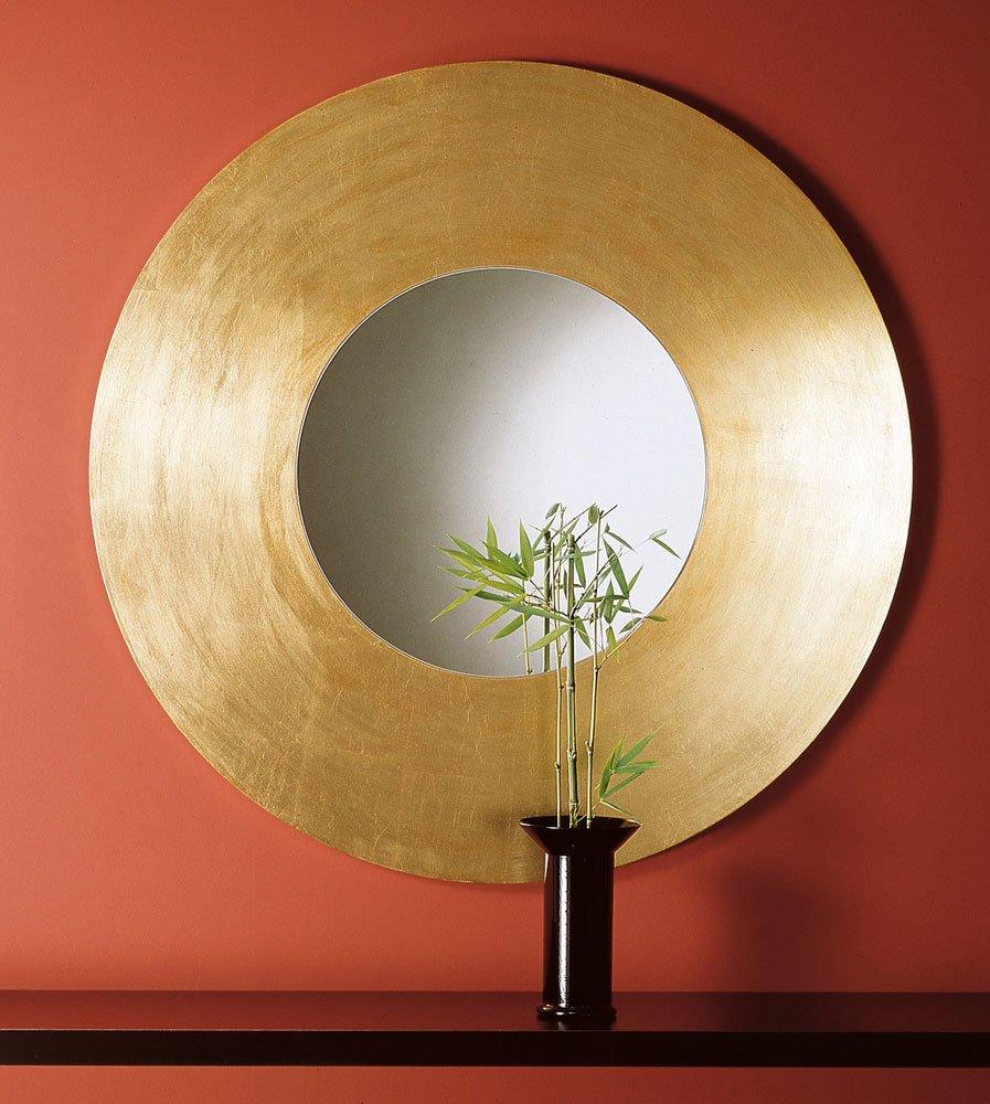 Specchiere specchio lago dorato da acerbis international - Specchio dorato antico ...