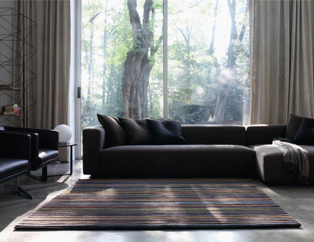 kinnasand teppiche teppich wave large designbest. Black Bedroom Furniture Sets. Home Design Ideas