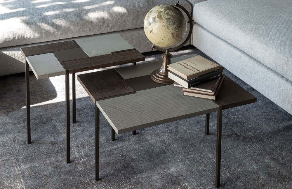Arketipo beistelltische beistelltisch stijl designbest for Messing beistelltisch katalog