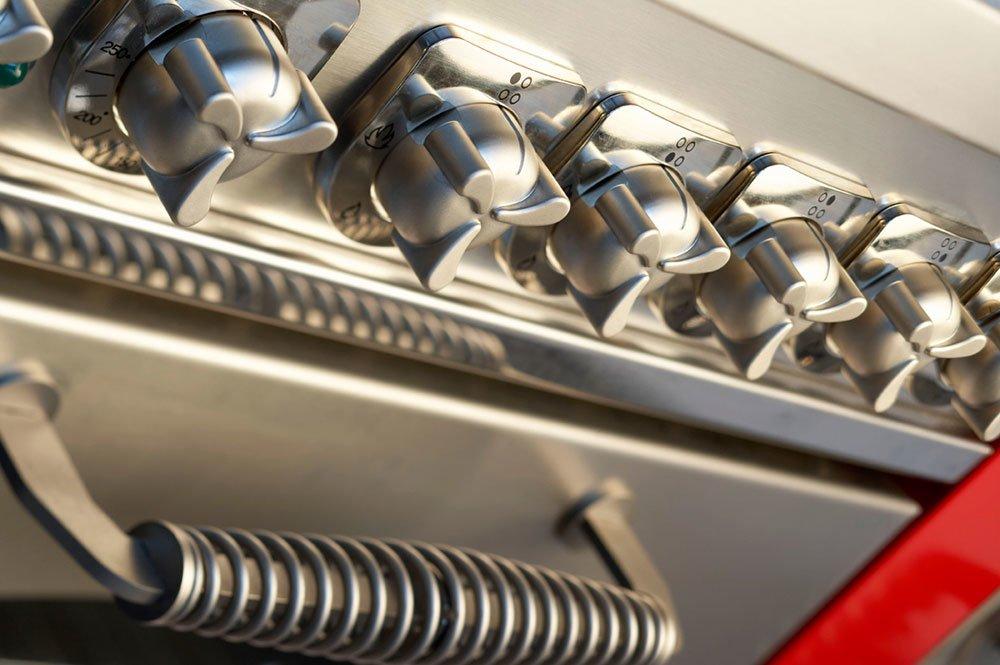 Cucine economiche e termocucine cucina domino gd7 da de manincor - Cucina economica a gas ...