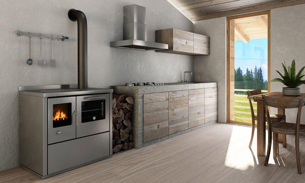 Cucine economiche e termocucine cucina eco e90 da de manincor for Cucine pertinger