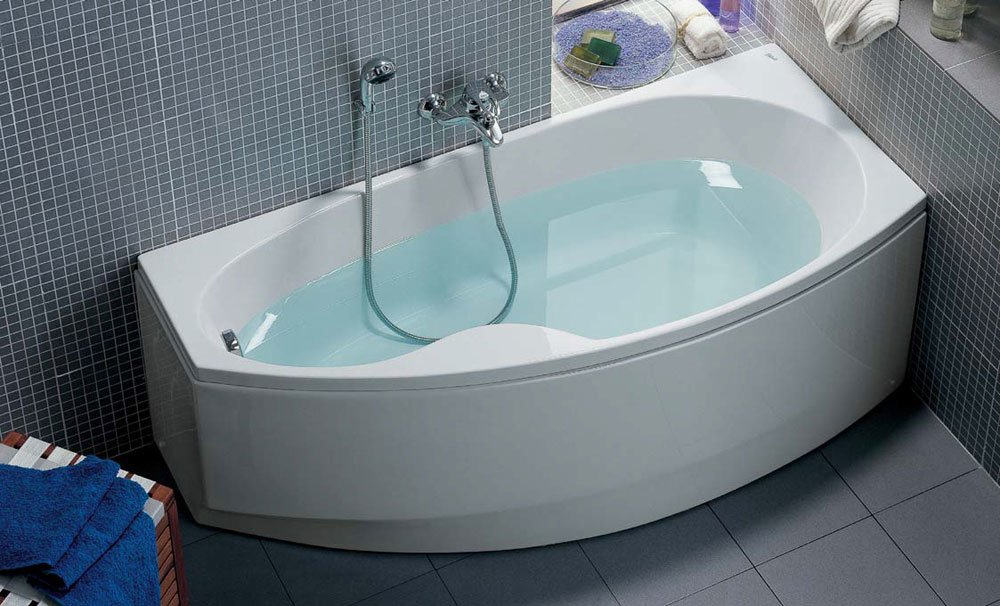 Vasche vasca saving da ceramica dolomite - Vasche da bagno roma ...