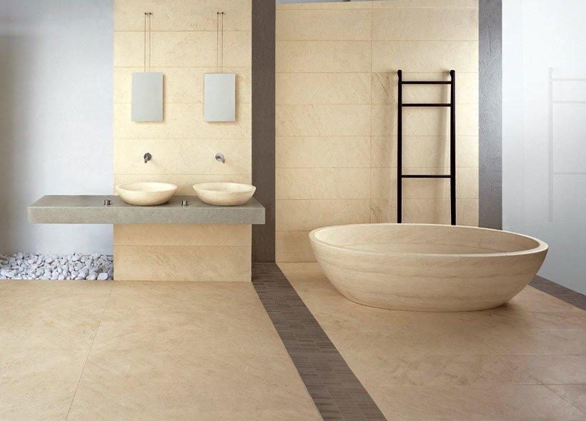 Vasche vasca tinozza da pibamarmi - Vasca da bagno in pietra ...