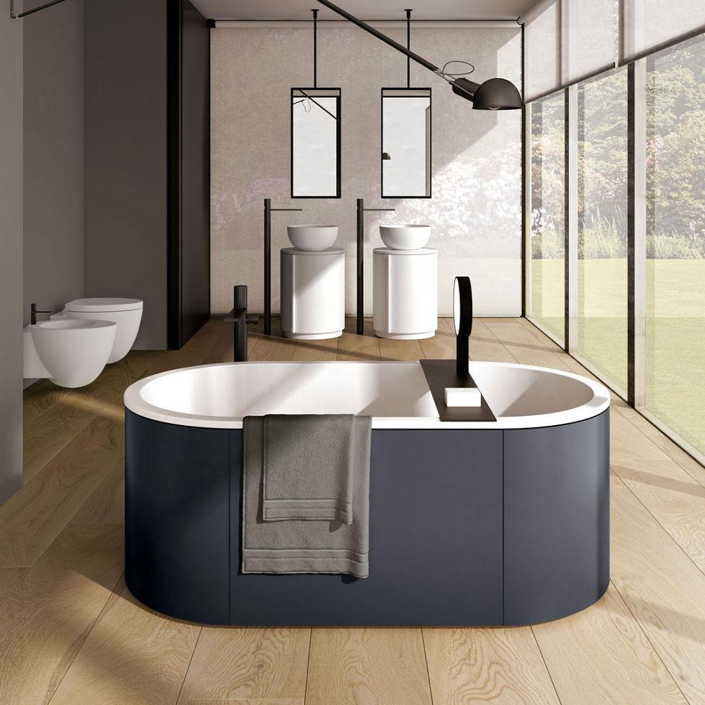Vasche vasca cibele da ceramica cielo - Vasca da bagno ceramica ...