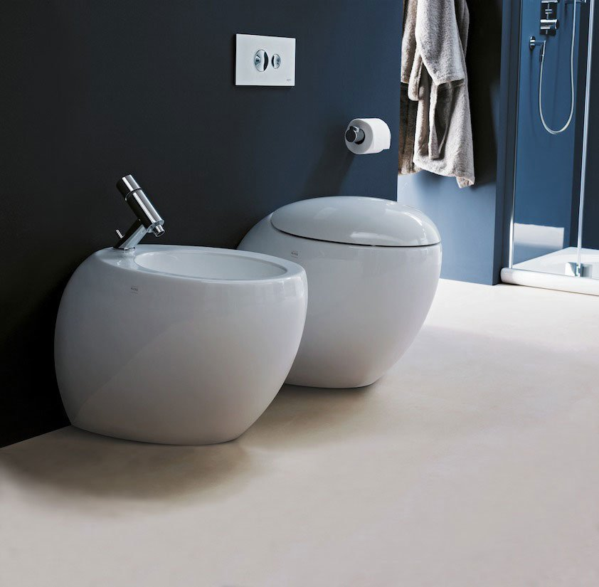 wc and bidets wc and bidet alessi one a by laufen. Black Bedroom Furniture Sets. Home Design Ideas