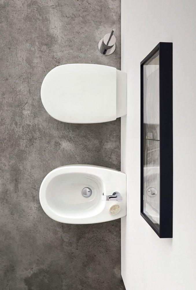 Wc e bidet wc e bidet milk da nic design for Catalogo nic design