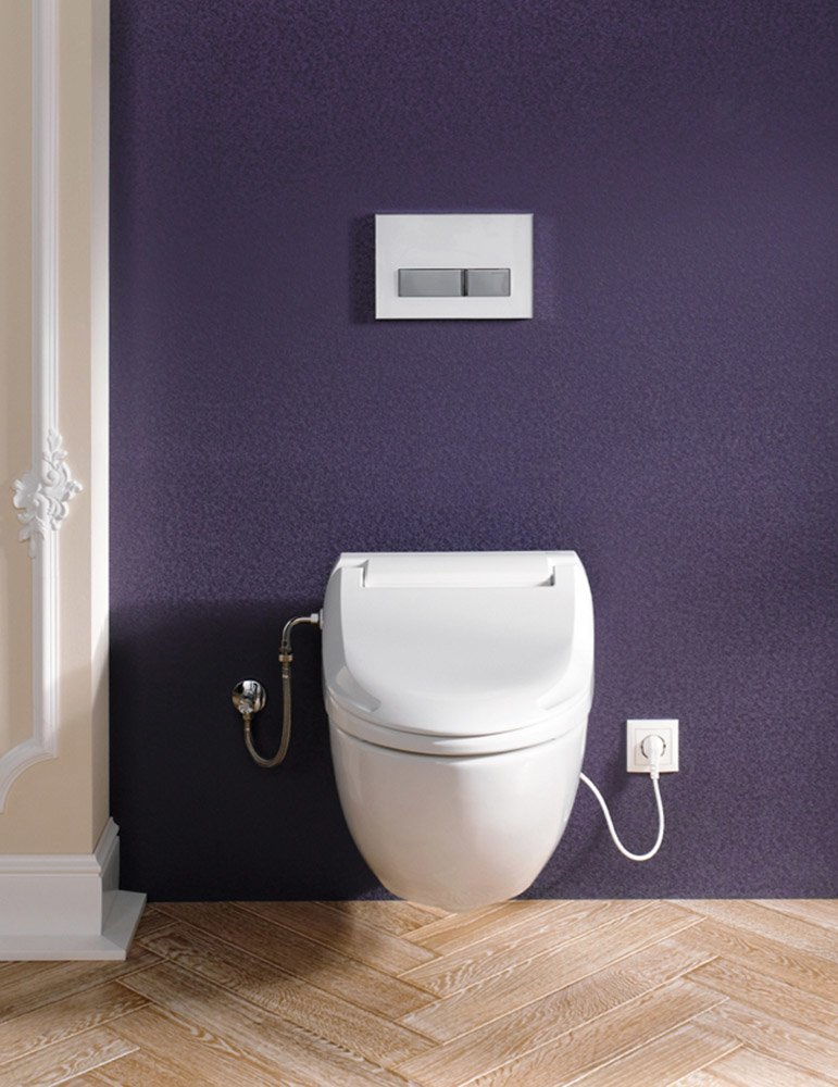 wc e bidet wc e bidet aquaclean 4000 da geberit. Black Bedroom Furniture Sets. Home Design Ideas