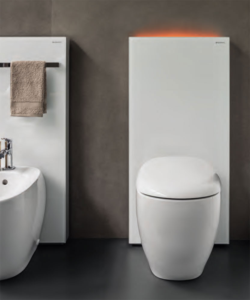 wc e bidet modulo monolith plus per wc a da geberit. Black Bedroom Furniture Sets. Home Design Ideas