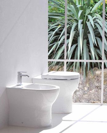 Wc e bidet designbest for Esedra water