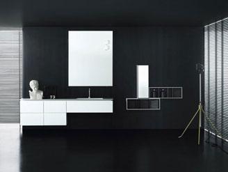 Contenitori e specchi per arredo bagno interni casa - Specchi per arredo bagno ...