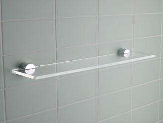 Mensole cristallo bagno la scelta giusta variata sul - Mensole bagno design ...