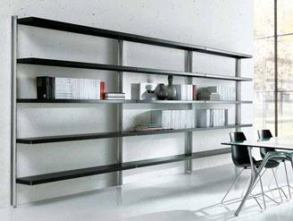 Casa moderna roma italy in tessuto for Scaffali per ufficio ikea