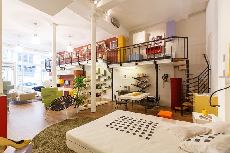 Lago sentier magasin mobilier paris for Amenagement jardin 250m2