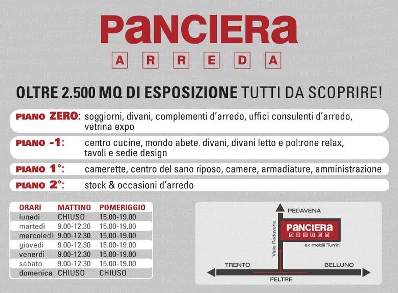 Panciera arreda feltre webmobili for Panciera arreda