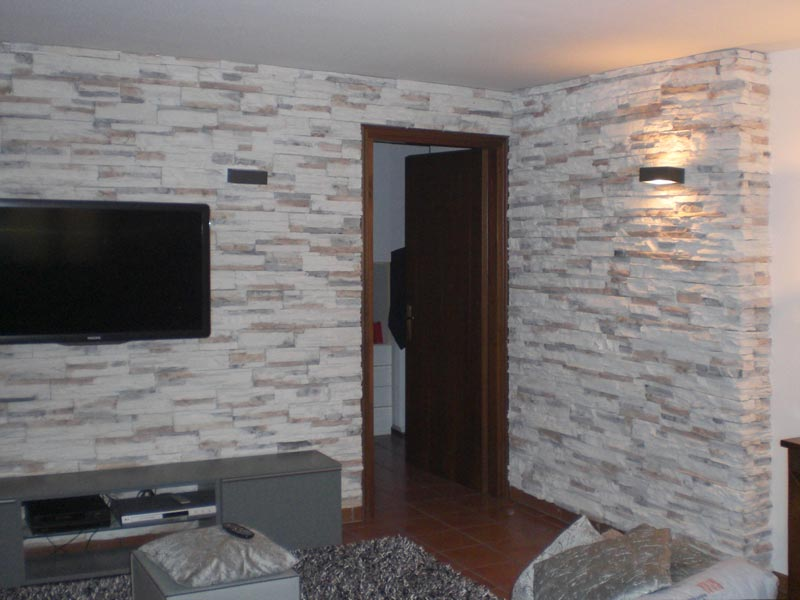 Piastrelle finto muro great msd rustica cobriza panelli with