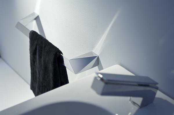Accessori bagno: Porta salviette Freeze da Bertocci