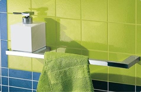Accessori bagno porta asciugamano quadra da tenda dorica - Porta asciugamano bagno ...