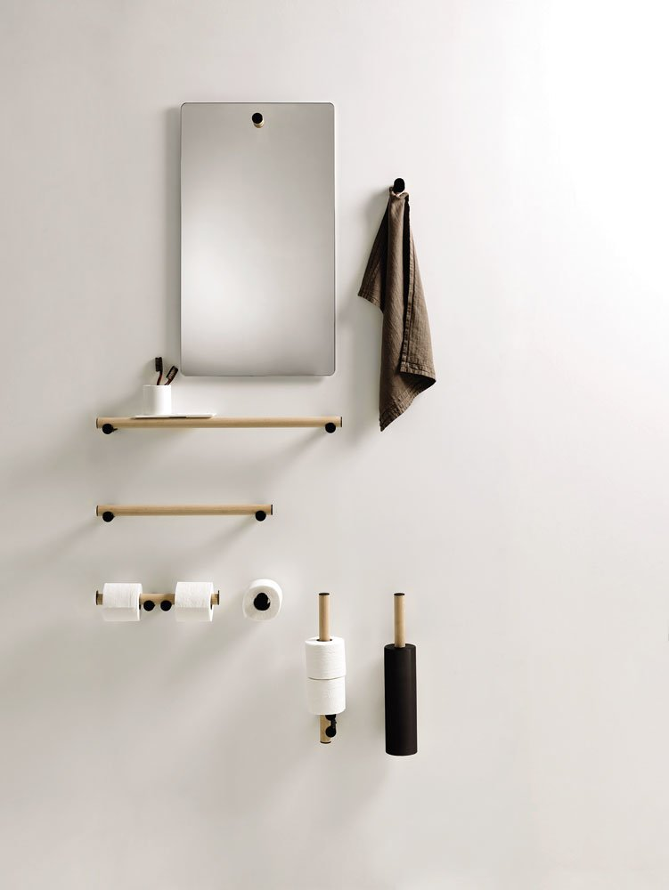 agape accessoires f rs bad badezimmeraccessoires dot line. Black Bedroom Furniture Sets. Home Design Ideas