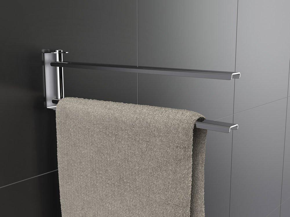 Accessori bagno porta asciugamani easy da capannoli - Porta asciugamani da bagno ...
